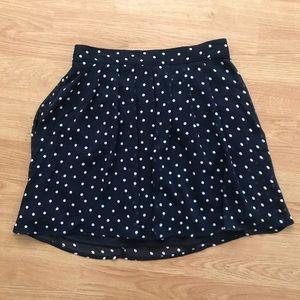 Old Navy Polka Dot Mini Skirt